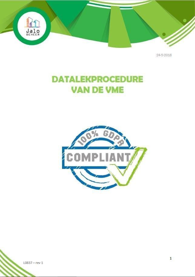 Datalekprocedure VME - Jalo Beheer