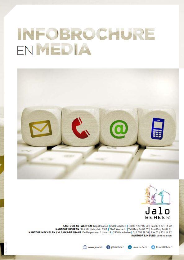 Infobrochure en media - Jalo Beheer