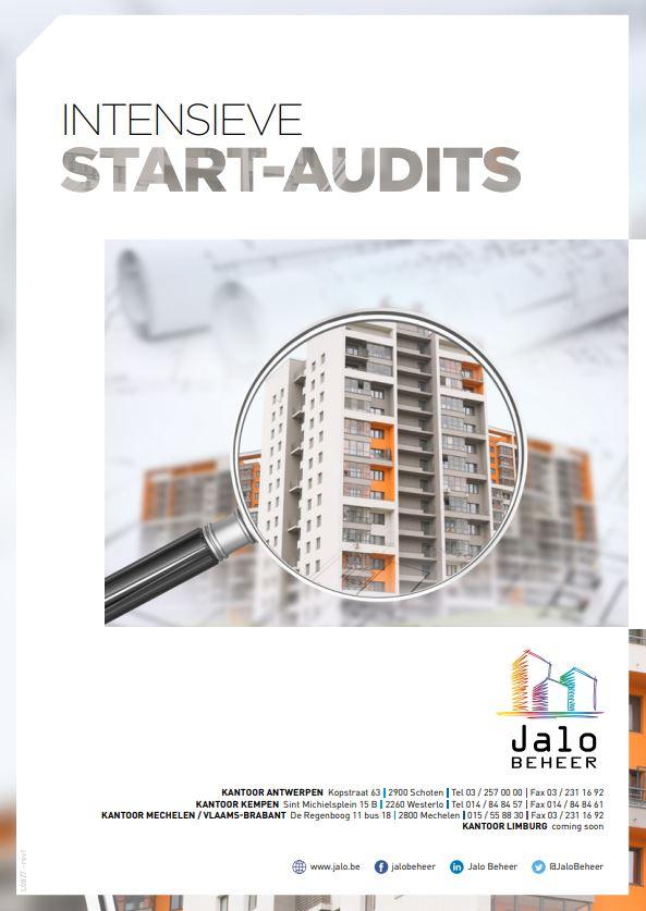 Uitgebreide opstart audits - Jalo Beheer